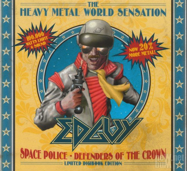 Edguy - Space Police. Defenders Of The Crown [Limited Edition] (2014)