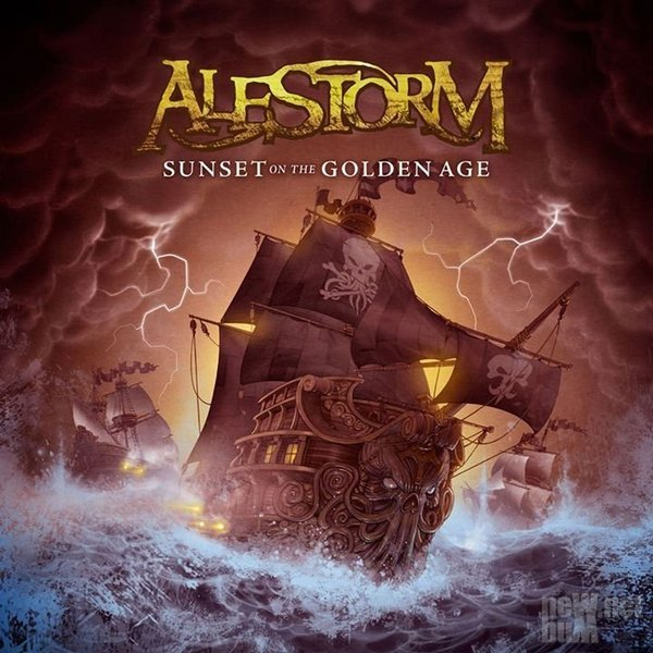 Alestorm - Sunset On The Golden Age (2014)