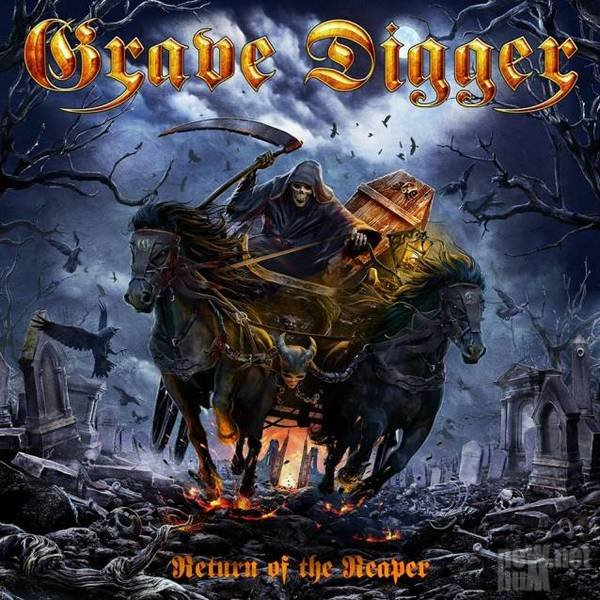 Grave Digger - Return Of The Reaper [Limited Edition] (2014)