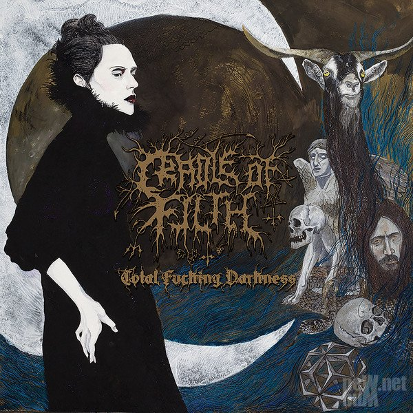 Cradle of Filth - Total Fucking Darkness (2014)