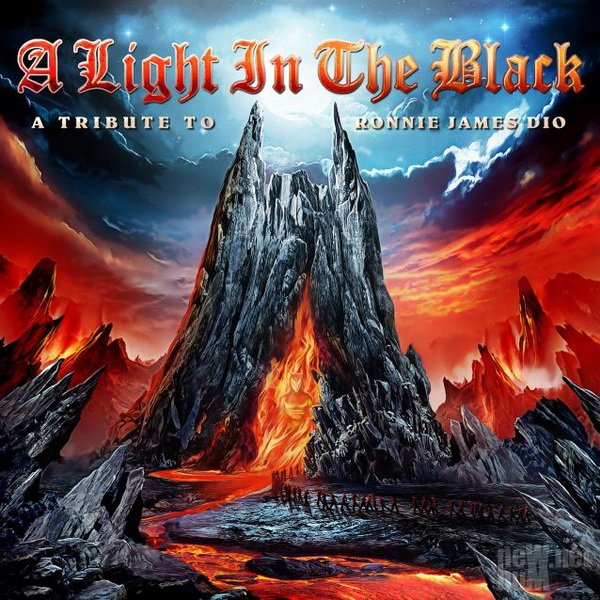 VA - A Light In The Black. A Tribute To Ronnie James Dio (2014)