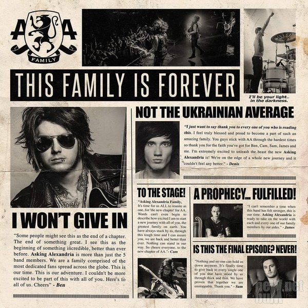 Asking Alexandria - I Won't Give In [Single] (2015)