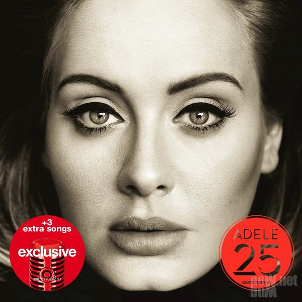 Adele - 25 [Target Exclusive Deluxe Edition] (2015)