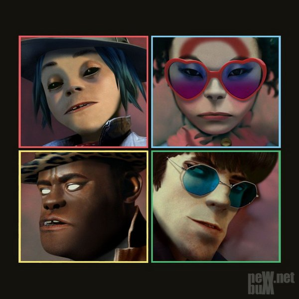 Gorillaz - Let Me Out [Single] (2017)