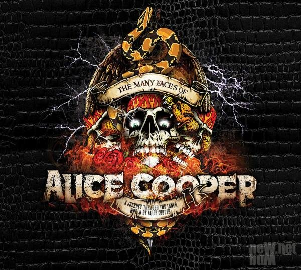 VA - The Many Faces Of Alice Cooper (2017)