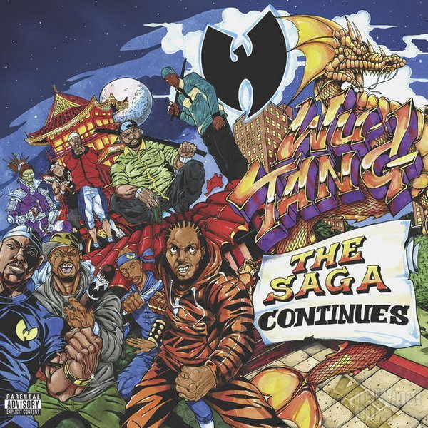 Wu-Tang Clan - The Saga Continues (2017)