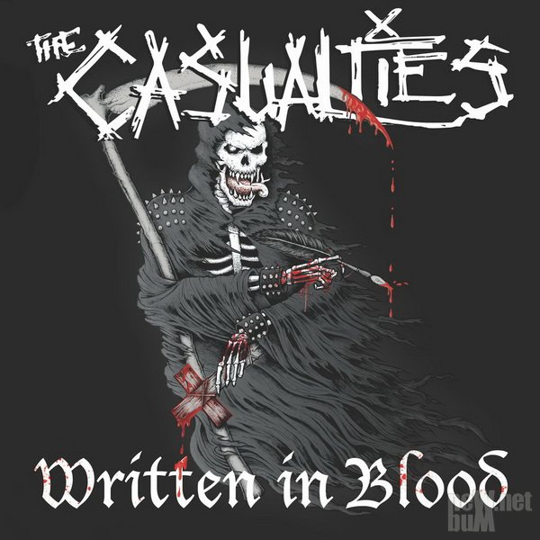 The Casualties - Written In Blood (2018)