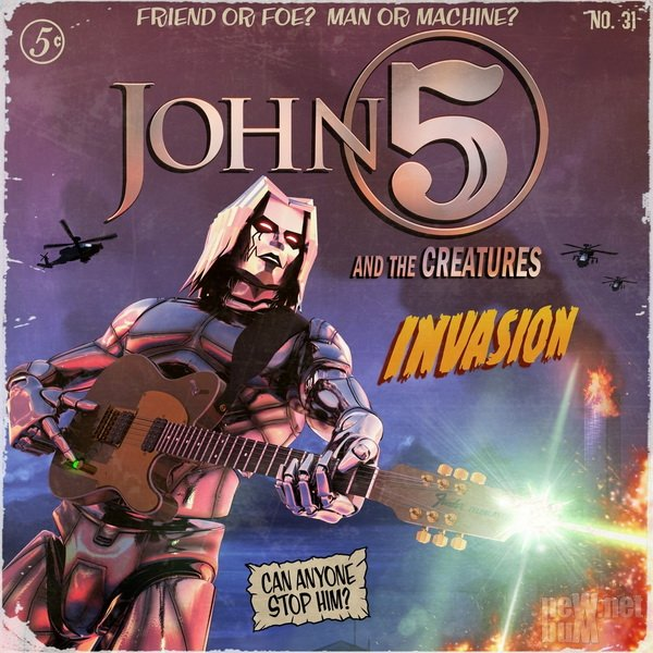 John 5 & The Creatures - Invasion (2019)