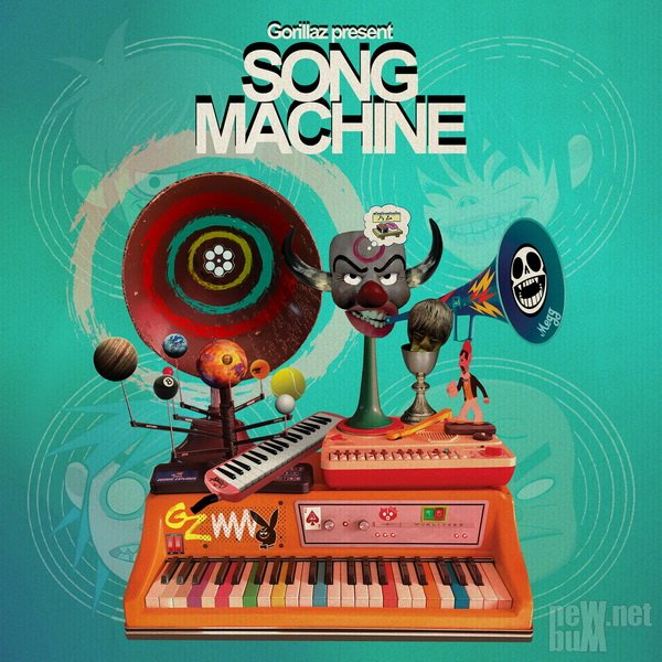 Gorillaz - Song Machine (2020)
